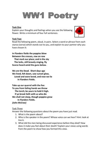 9th grade ww1 essay