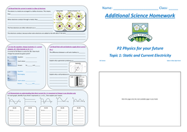 GCSE Additional & Core Science Revision Workbooks