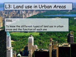 Changing Urban Environments AQA A
