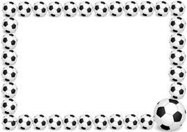 Football 2014 Themed Lined papers and Pageborders