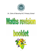 Year 6 maths revision booklet