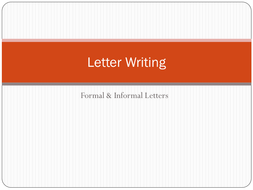 formal letter checklistdocx letter writing structurespptx