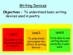 Writing Devices Introduction (visual based)
