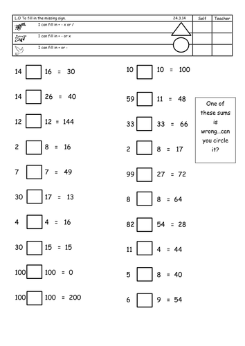 Missing numbers and continuing sequences by landoflearning ...