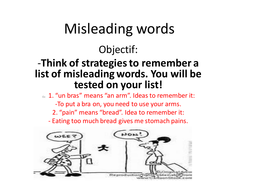 Misleading words.ppt