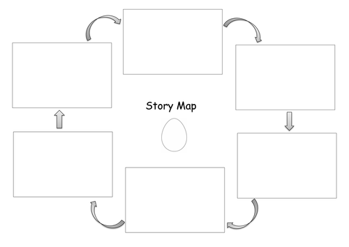 Story Map Template by jodieclayton Teaching Resources Tes – Story Map Template