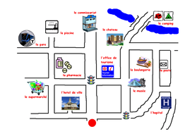 Map of Town.doc