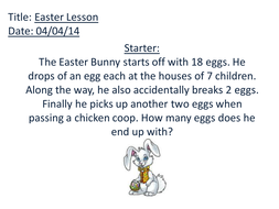 Times Tables Easter Egg Hunt!