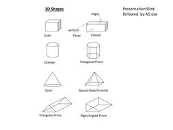 3D Handy Mini Cards - Simple Shapes