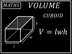 Maths Posters - Volume