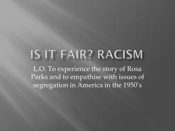 racism stilling on Rosa Parks.pptx