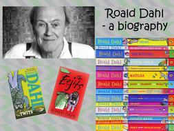 author roald dahl biography