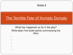 'The Terrible Fate of Humpty Dumpty' Scene 4