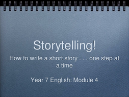 Short Story Introduction Lesson