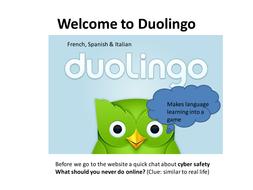 Tutorial for kids on using Duolingo
