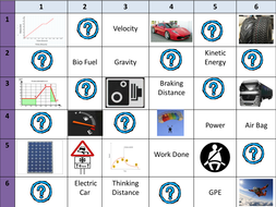 P3 and P4 OCR Gateway Learning Grids