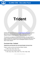 Trident - UK's nuclear weapons programme