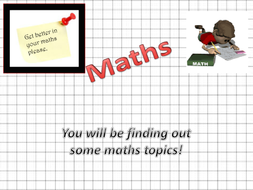Maths, Value, Capacity and Qs