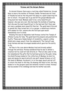 Perseus and the Gorgon Medusa.doc