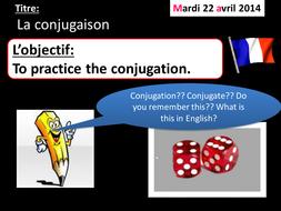 La conjugaison (pratique)