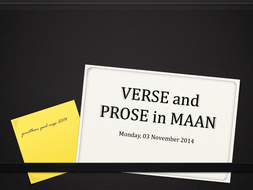 supporting MAAN at GCSE and A level
