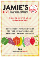 Jamie's live TES cooking lesson: Certificate