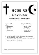 AQA Spec B Religious Teachings Revision Guide