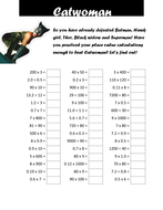 Maths Worksheets And Answers Excel Superhero Times Table Tests By Cellerdore  Teaching Resources  Tes Empathy Worksheet Pdf with Metric Worksheets Middle School Pdf Worksheet Email Excel Worksheet Excel