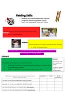 Rounders Level Ladders - Fielding Skills