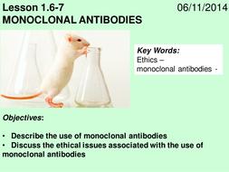 Monoclonal Antibodies lesson