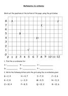 Mathematics Co-ordinates worksheet L1.docx