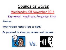 Sounds as waves by zuba102 | Teaching Resources