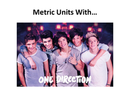 Metric Units With One Direction