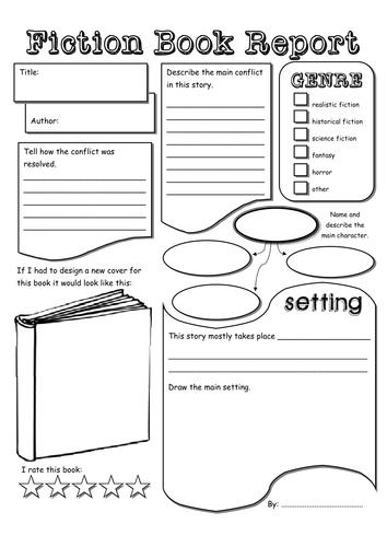 book report outline  rd grade KaTiE s KLaSsrOoM   blogger Free Book Cover Template for Kids