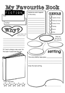 My Book Report Template   Scholastic Printables