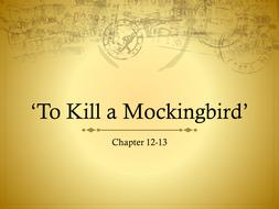 chapter 12 13 to kill a mockingbird