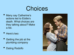 AVFTB Character Thoughts Feelings Catherine 3ppt