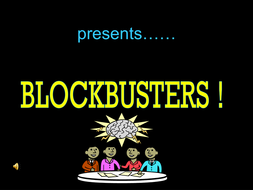 Blockbusters VCOP Literacy Game
