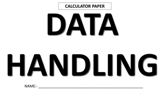 Data Handling_Answer sheet (calculator).pdf