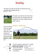 Rounders Bowling Variations