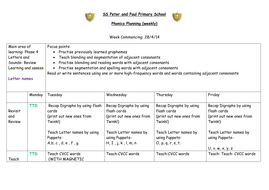 Phase 4. Rec 4 Week Planning