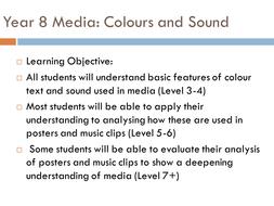 KS3 Media - Colour and Sound