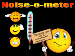 Noise meter for classrooms