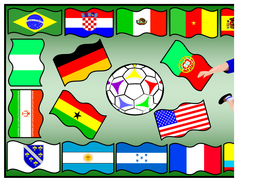 World Cup 2014 Themed Banners