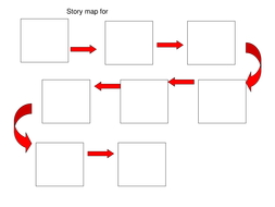 Blank story map to help with oral story telling