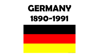 100 years of Germany 1890-1991