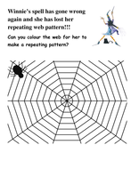 Winnie's repeating pattern