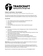 Queens Baton Relay & Fair Trade Craft Activity