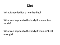 diet and exercise pass criteria