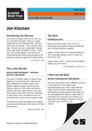 Jon Klassen - If you only do one activity.pdf